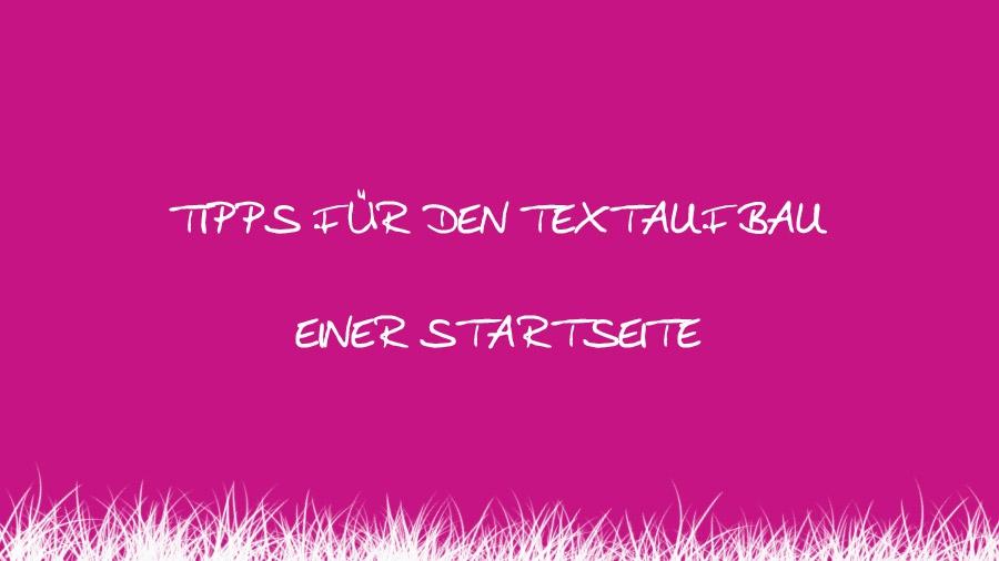 Startseiten-Tipps text-treffer