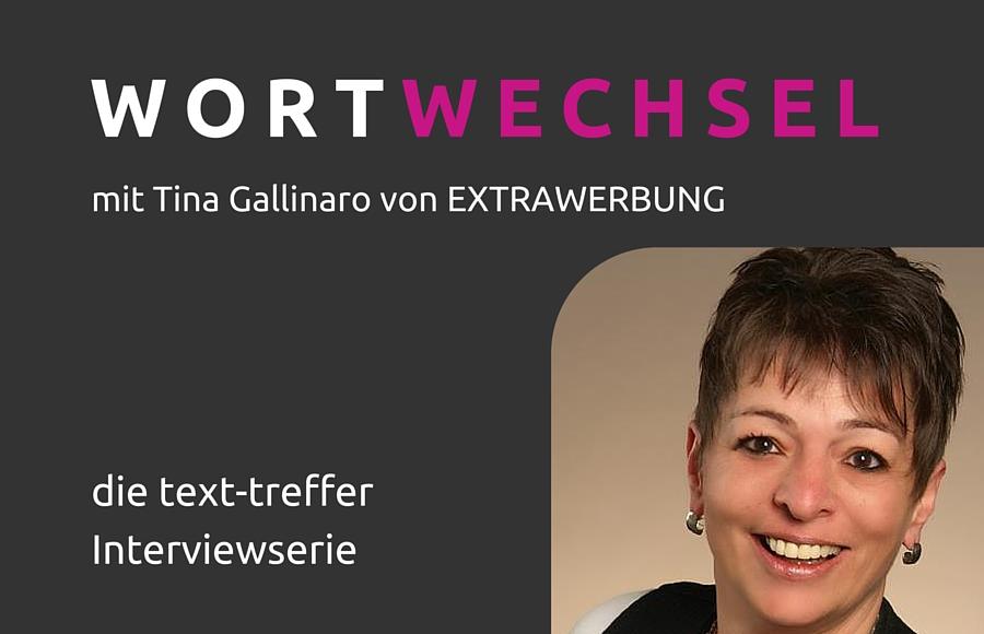 Wortwechsel mit Tina Gallinaro