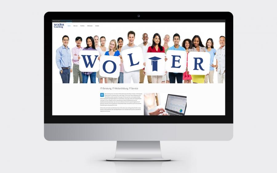 Screenshot www.wolter-coaching.com