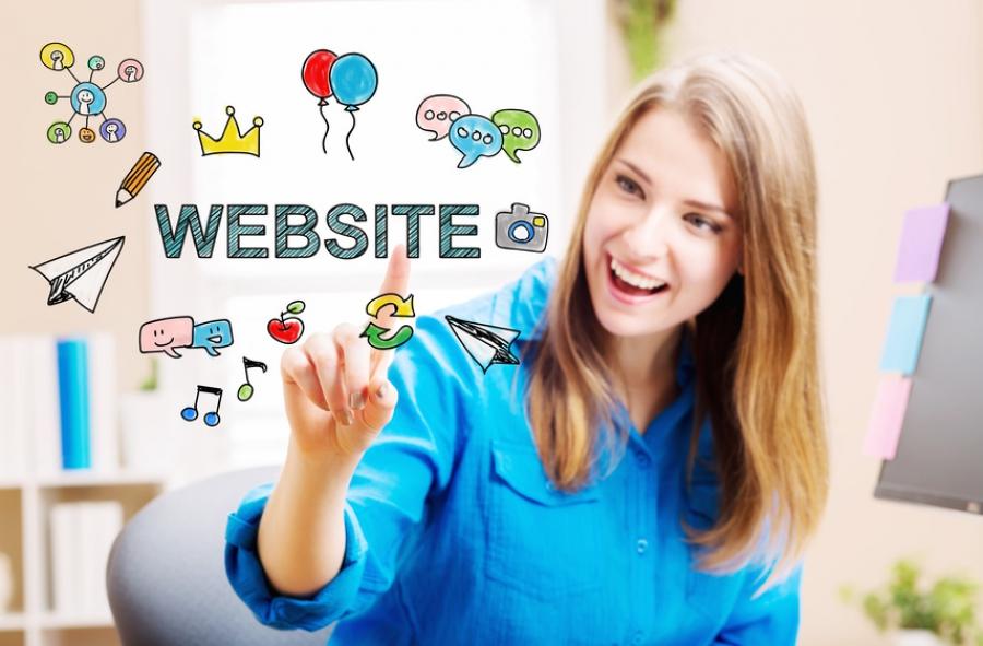 Webseite Texte
