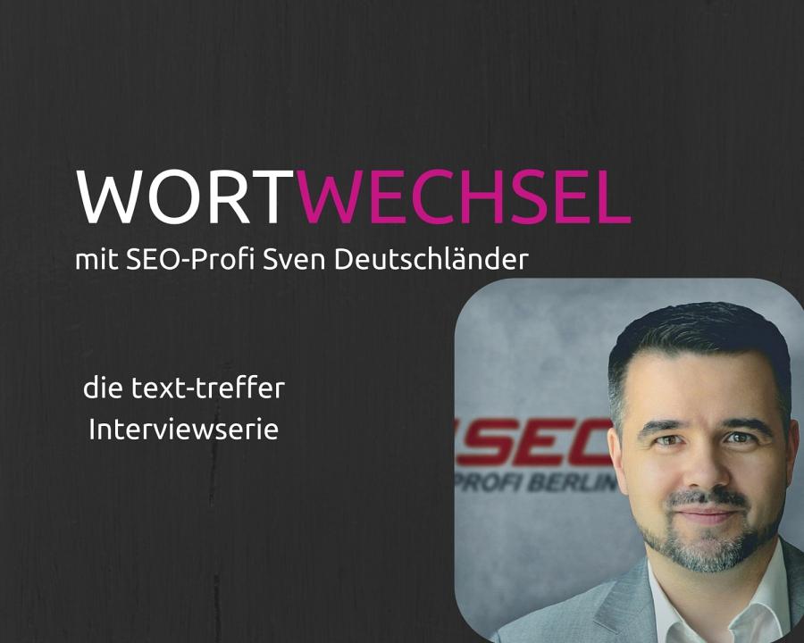 Wortwechsel mit Sven Deutschländer