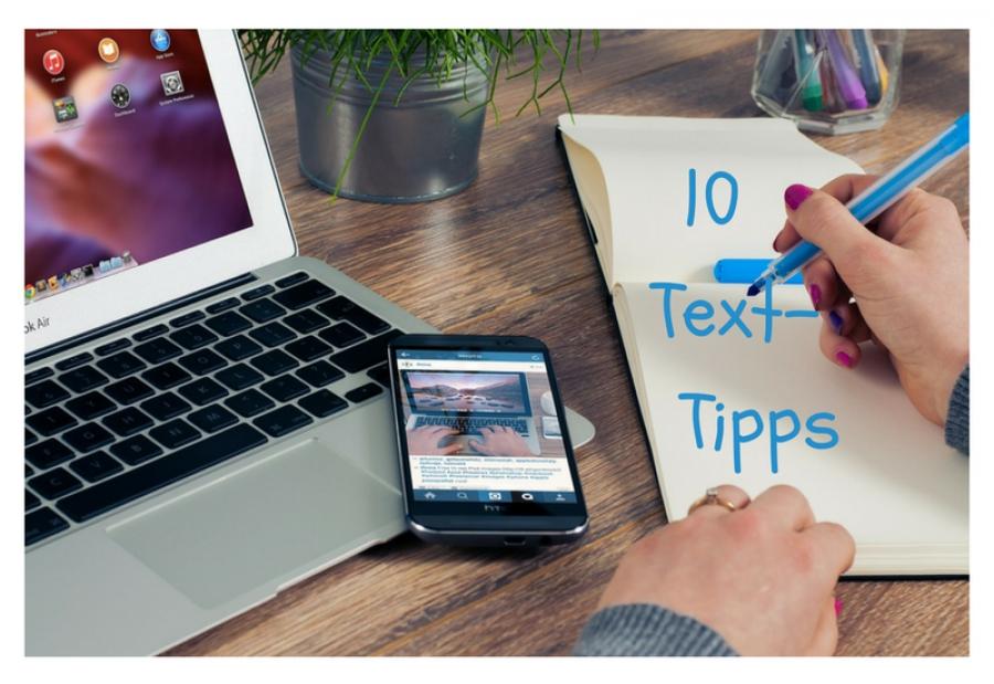 Text-Tipps für Blog und Webseite