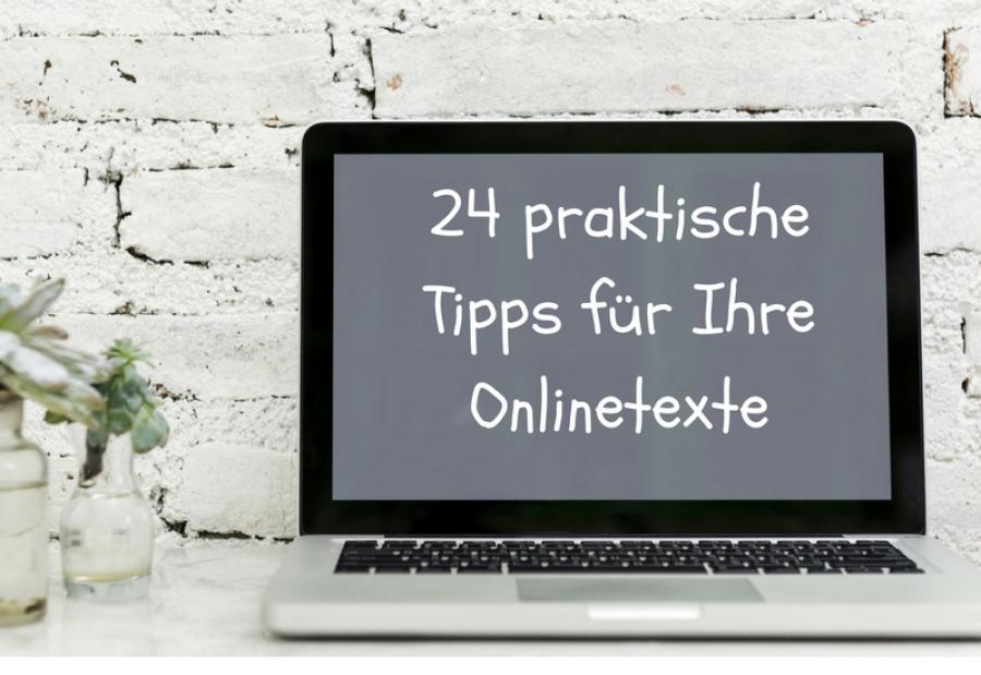24 praktische Text-Tipps