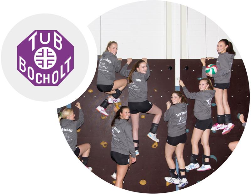 TUB Bocholt Volleyball Sponsoring